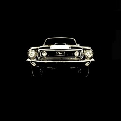 Tee shirt  Ford Mustang...