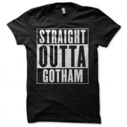 black Gotham sublimation shirt