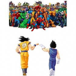 Dragon ball vs Marvel sublimation