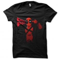 deadpool shirt black...