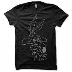 Tee shirt  Coyote sublimation