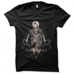 shirt skeletons swag black...