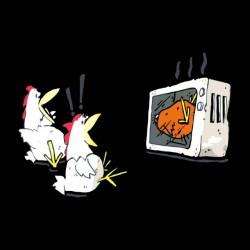 tee shirt anti poulets  sublimation