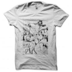 Tee shirt Walkin Dead fan art  sublimation