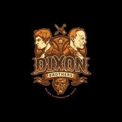 Walkin Dead Dixon Brothers...