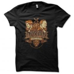 Walkin Dead Dixon Brothers t-shirt black sublimation