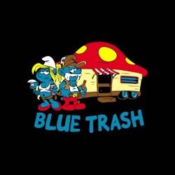 tee shirt schtroumpfs trash   sublimation