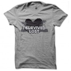 tee shirt i survived lost...