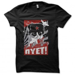 tee shirt chat communiste...