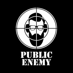hipsters shirt public enemy sublimation