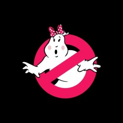 tee shirt pink ghostbusters  sublimation