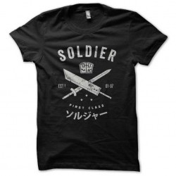 shirt manga man black...