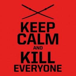 keep calm and kill shirt everyone deadpool sublimation