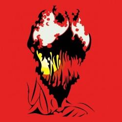 deadpool design red sublimation shirt