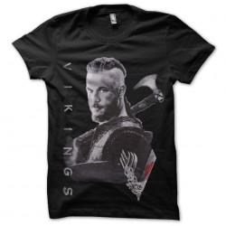 ragnar vikings shirt black...