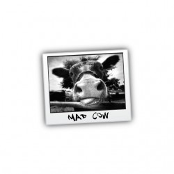 Tee shirt Mad Cow  sublimation