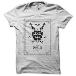 Hylian Shield Foundry white sublimation t-shirt