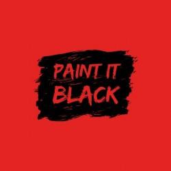 Paint it Black Rolling Stones red sublimation t-shirt