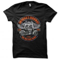 tee shirt route 66 rare...