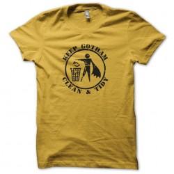 Tee shirt Keep Gotham Clean...