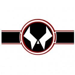 Spawn logo white...