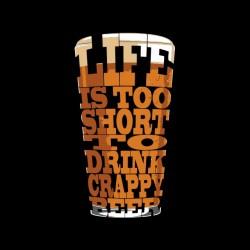beer life shirt to black sublimation shorts