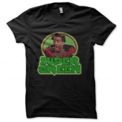 tee shirt super green 5...