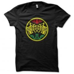 Black biker symbol sublimation t-shirt