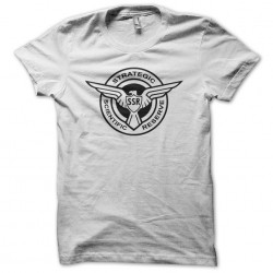Steve Rogers SSR sublimation white T-shirt