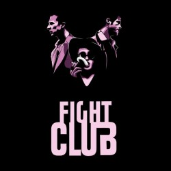 tee shirt fight club vector sublimation