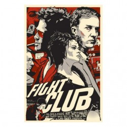 shirt fight club comics sublimation