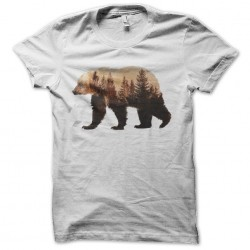 tee shirt ours montagne...