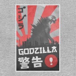 tee shirt godzilla japan edition sublimation