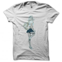 T-shirt Jessica Nigri artwork white sublimation