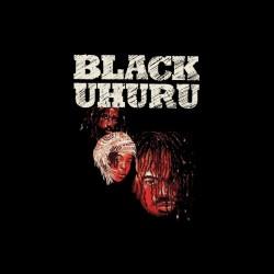 Black Uhuru artwork black sublimation t-shirt