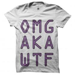 tee shirt omg aka wtf...