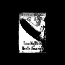 Led Zeppelin T-shirt Hammer of Gods black sublimation pouch