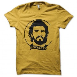 T-shirt Socrates tribute...