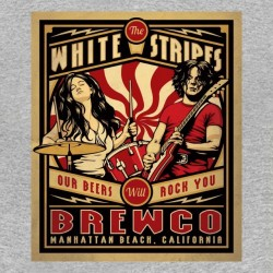 white stripes beer sublimation shirt