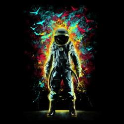 deep space shirt astronaut sublimation