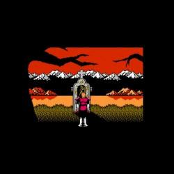 castelvania 8-bit sublimation shirt