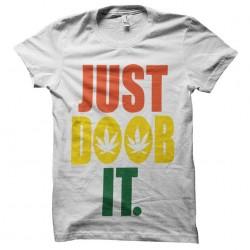 tee shirt just doob it rasta dub sublimation