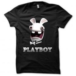 Black playboy sublimation t-shirt