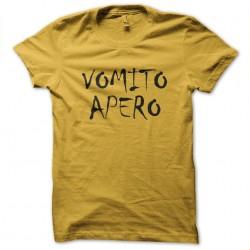 shirt apero vomit yellow...