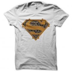 tee shirt superman mechanics sublimation