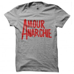 tee shirt amour anarchie...