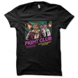shirt fight club 8 bit...