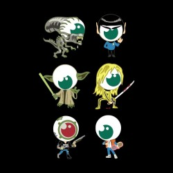tee shirt best geek personnages sublimation