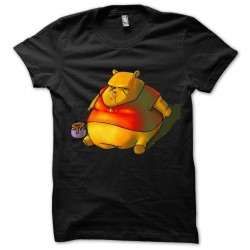 Winnie Pfiou shirt black sublimation