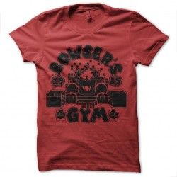 tee shirt bowser gym...